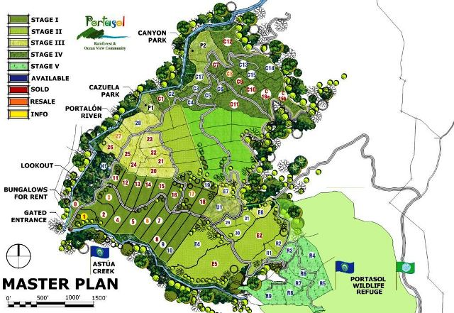 Portasol Living  master plan