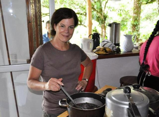 Marcia Gay Harden enjoys filming After Words movie at Portasol in Costa Rica