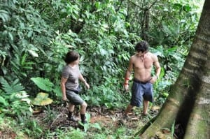Marcia Gay Harden & Oscar Jaenada in After Words movie filmed at Portasol in Costa Rica