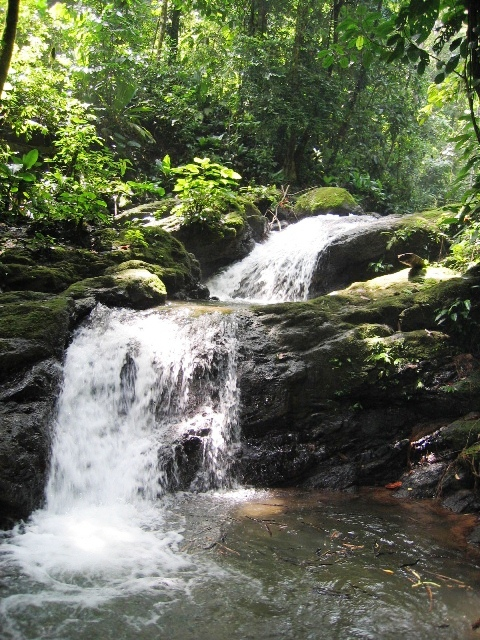 Waterfalls at Portasol Living in Costa Rica star in After Words movie