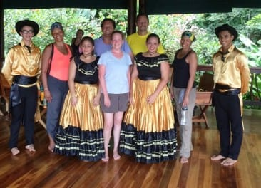Costa Rica cultural festival held at Playa Nicuesa Rainforest Lodge