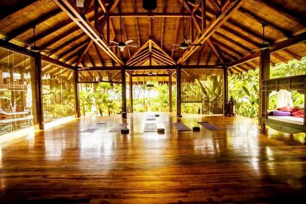 Yoga Shala at Pranamar Villas in Santa Teresa Costa Rica