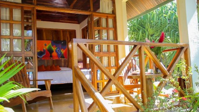 Beachfront Bungalow at Hotel Tropico Latino in Costa Rica