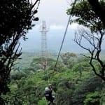 Canopy tour at El Establo Hotel in Monteverde Costa Rica