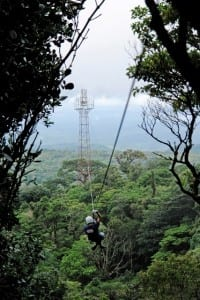 Canopy tour at El Establo Hotel in Monteverde Costa Rica