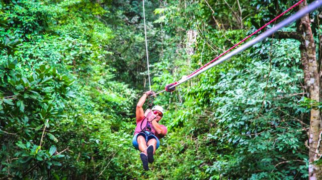 Canopy tour in Mal Pais Costa Rica