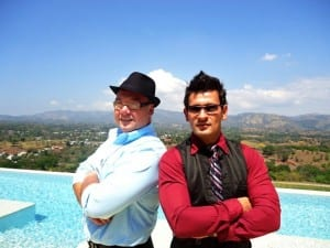 Dennis Easters & Gerardo Gonzalez of Pure Life Development of Atenas