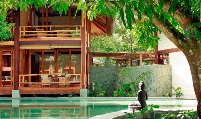 Pranamar Villas poolside bungalows in Costa Rica