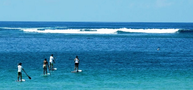 Standup Paddle Boarding in Santa Teresa Costa Rica