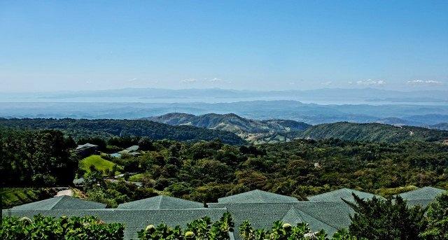 View from El Establo Hotel Monteverde Costa Rica