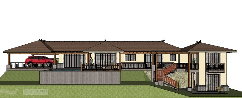 Las Brisas home plan in Atenas Costa Rica