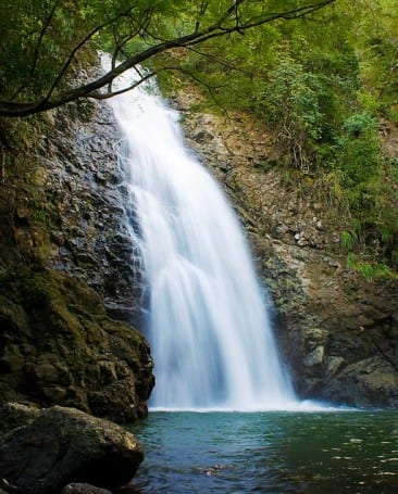 Visit the beautiful Montezuma Waterfalls in Costa Rica