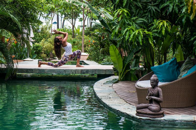Yoga at Pranamar Villas in Santa Teresa Costa Rica