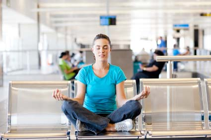 Yoga for travel, image by Yoga Journal