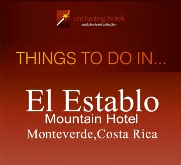 Things to do in El Establo Mountain Hotel