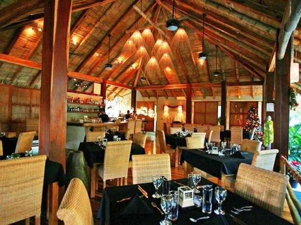 Buddha Eyes Restaurant at Pranamar Villas in Costa Rica