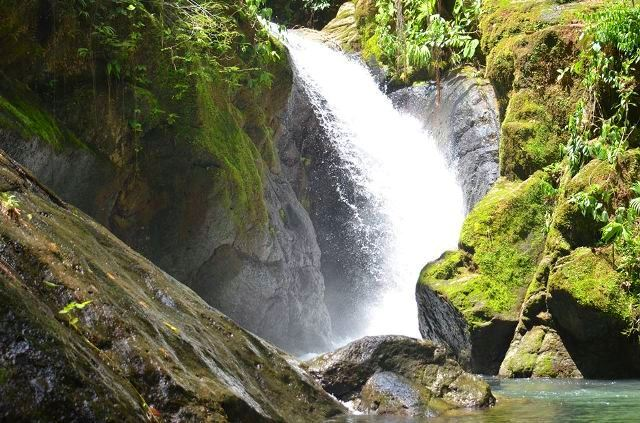 Cazuela Waterfall at Portasol Rainforest in Costa Rica