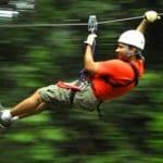 Hacienda Guachipelin canopy tour in Costa Rica
