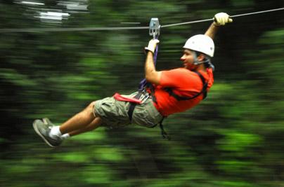 Top Costa Rica canopy zip line tour at Hotel Hacienda Guachipelin