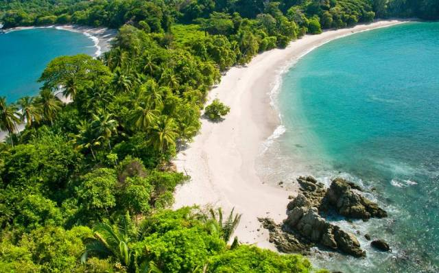 Manuel Antonio National Park beaches in Costa Rica