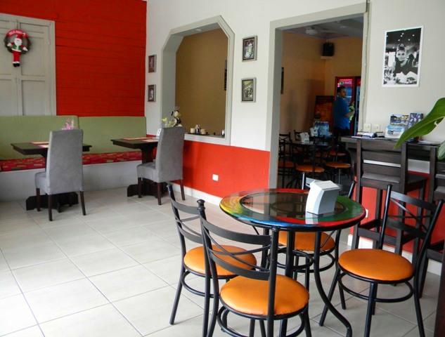 Restaurant Balcon del Cafe Atenas Costa Rica