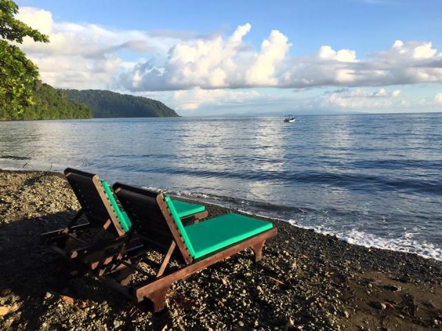 Beach at Playa Nicuesa Rainforest Lodge in Costa Rica