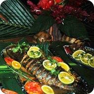 Dinner - Fresh fish at Playa Nicuesa Rainforest Lodge