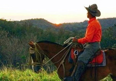 Guanacaste cowboy rides off into the sunset in Costa Rica