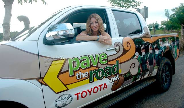 Pave the Road Costa Rica founder Kelly Mason