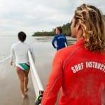 Surf classes at Pranamar Villas