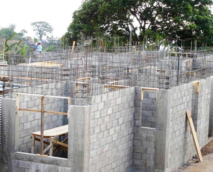 Home building Costa Rica initial stages