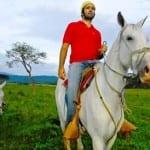 Horseback riding Hacienda Guachipelin Costa Rica