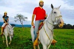 Costa Rica cowboys and ranch life at Hotel Hacienda Guachipelin