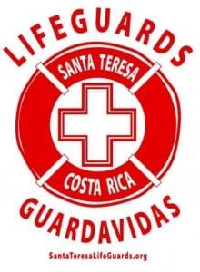 Santa Teresa Costa Rica lifeguards logo