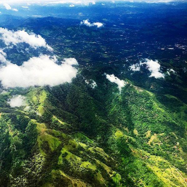 Costa Rica aerial image, by Daniel Chavarria