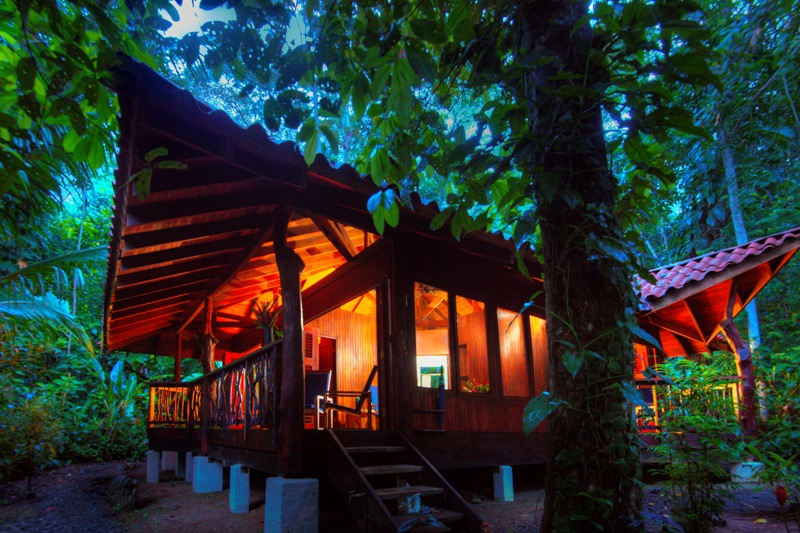 Two bedroom cabin at Playa Nicuesa Rainforest Lodge in Costa Rica