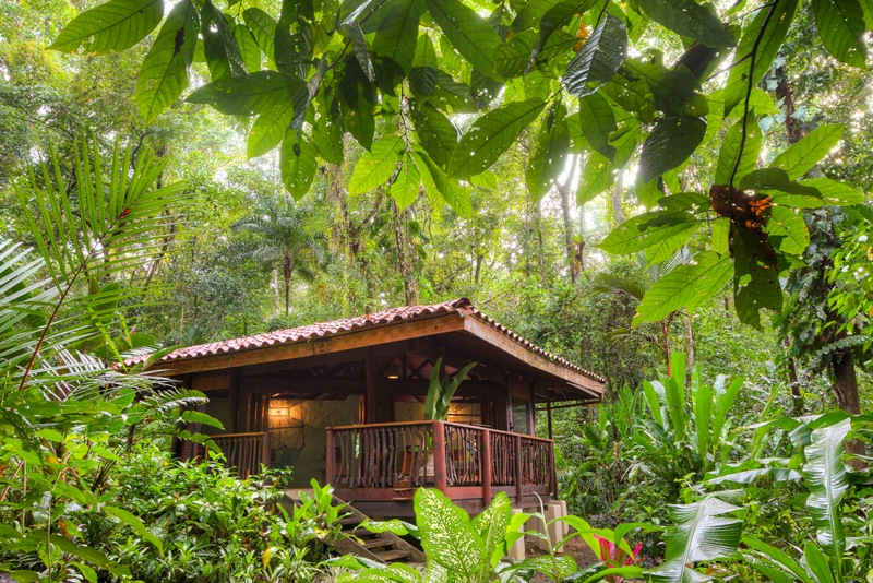 One bedroom cabins at Playa Nicuesa Rainforest Lodge in Costa Rica