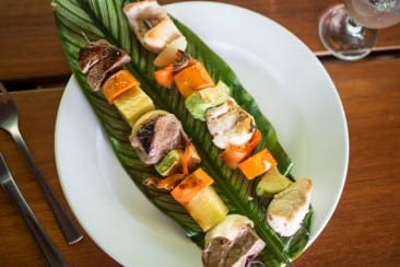 Fresh, healthy & delicious dining at Playa Nicuesa Rainforest Lodge