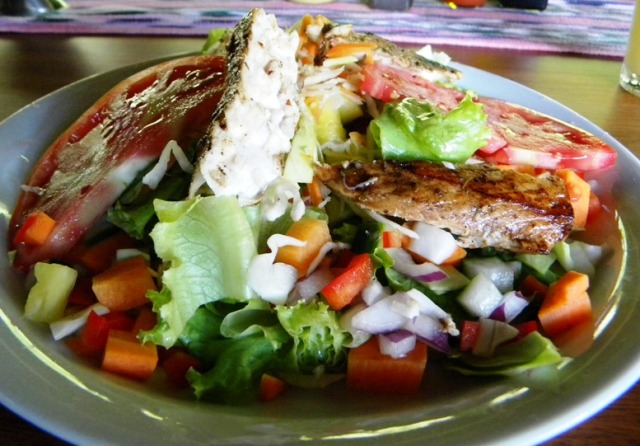 Dine gourmet and healthy at Playa Nicuesa Rainforest Lodge
