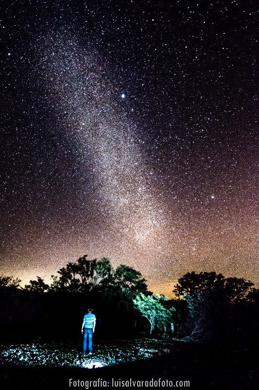 Night sky stargazing at Hacienda Guachipelin in Guanacaste Costa Rica (1)