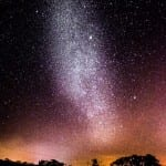 Night sky stargazing at Hacienda Guachipelin in Guanacaste Costa Rica