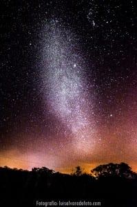 Night sky stargazing at Hacienda Guachipelin in Guanacaste Costa Rica