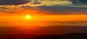 Sunset Atenas Costa Rica