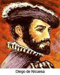 Diego de Nicuesa, Spanish explorer