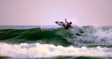 A chill vibe and hot surfing in Malpais Costa Rica