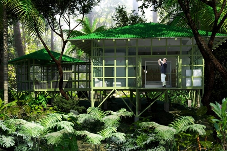 Cool Designs For Tropical Architecture In Costa Rica Enchanting