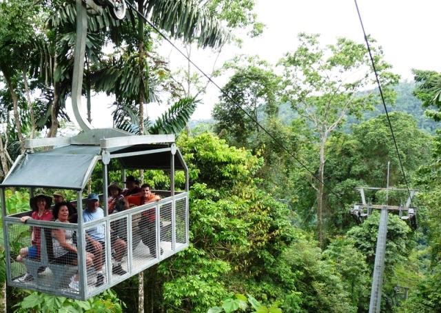 Veragua Rainforest aerial tram in Costa Rica
