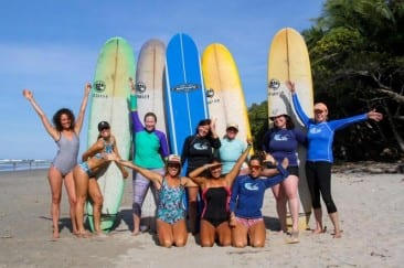 Summer Escape! Women-only surf and yoga vacations in Costa Rica