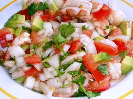 Costa Rican Food - Ceviche