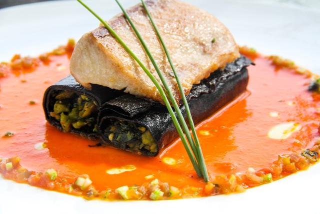 Costa Rican cuisine at Hotel Tropico Latino restaurant
